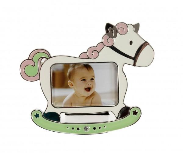 Kinder Fotorahmen Horse rosa