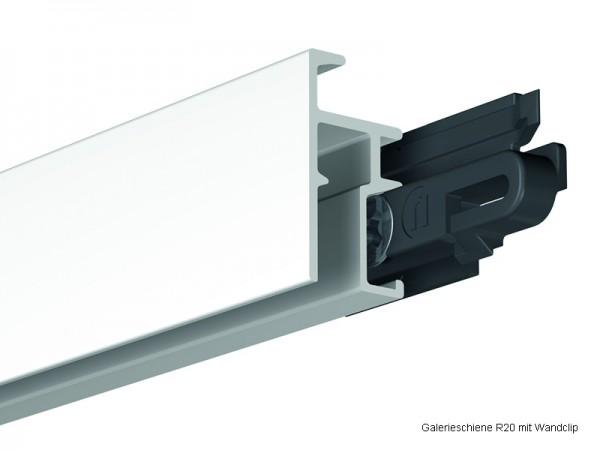 Galerieschiene R20 Allround / 200 cm