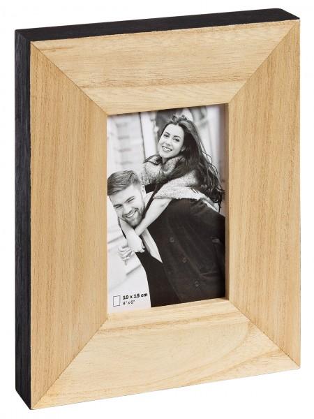 Holz Fotorahmen LAOIS natur/ schwarz