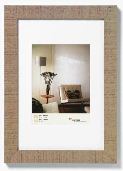 Holz Bilderrahmen Home inkl. Passepartout
