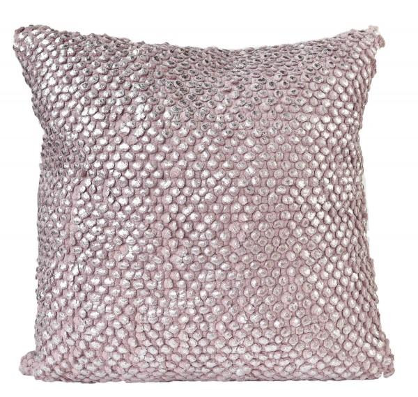 Kissen VIAN - Silver/ Rose 45x45 cm