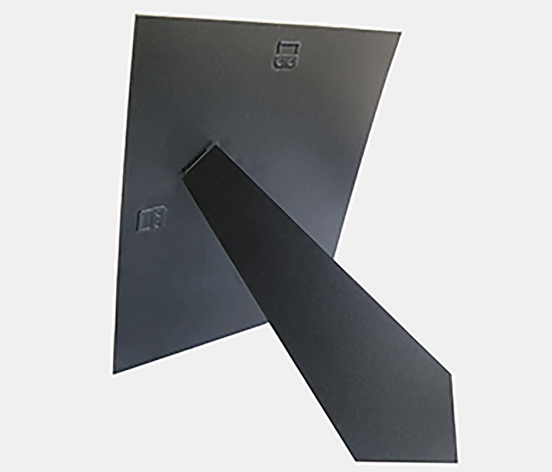 r ckwand mit ausziehbarem aufsteller. Black Bedroom Furniture Sets. Home Design Ideas