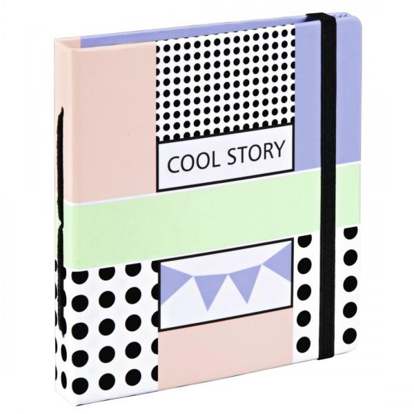Einsteckalbum Cool Story für Polaroid im Format 5,4x8,6 cm