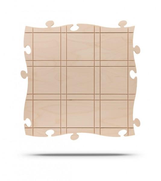 Puzzles+ Einsteckrahmen Mondrian - natur