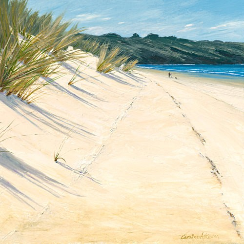 ALONG THE DUNES von Caroline Atkinson