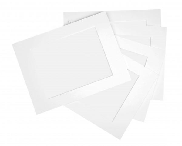 Passepartout vorgeschnitten für DIN-Formate