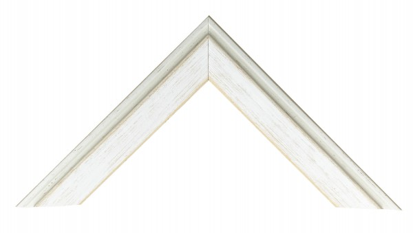 Holz Bilderrahmen Profil 59 mit Passepartout