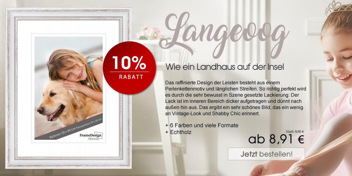 Romantisch, trendig, seriös: Unsere August-Aktionen | Bilderrahmen ...