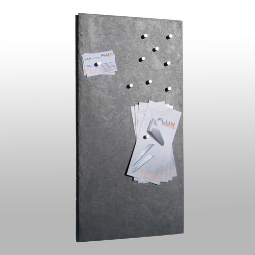 flux pinboard schiefer magnet pinnwand 30 x 60 cm pinnw nde accessoires bilderrahmen. Black Bedroom Furniture Sets. Home Design Ideas
