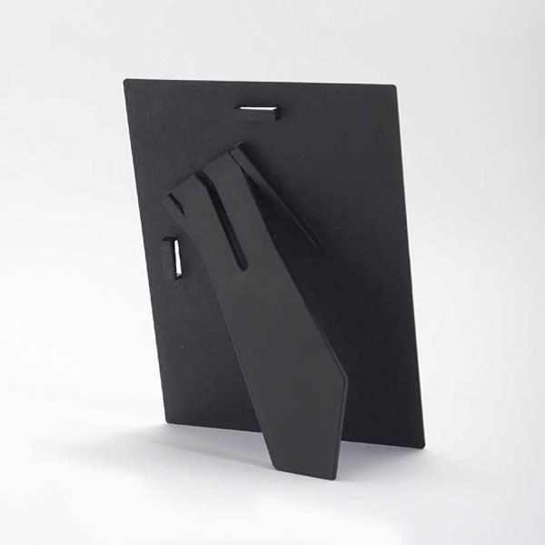 Kunststoff Rückwand mit Aufsteller