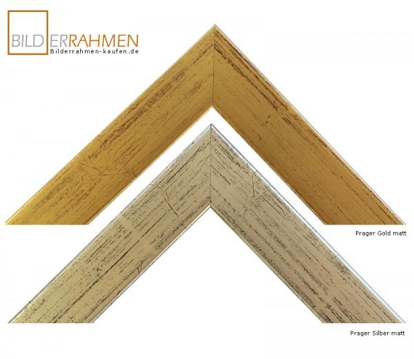Holz Bilderrahmen Auriga Profil 3029 gold/ silber
