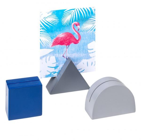 Bildhalter Geometrics 3er Set