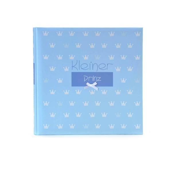 Babyalbum kleiner Prinz blau