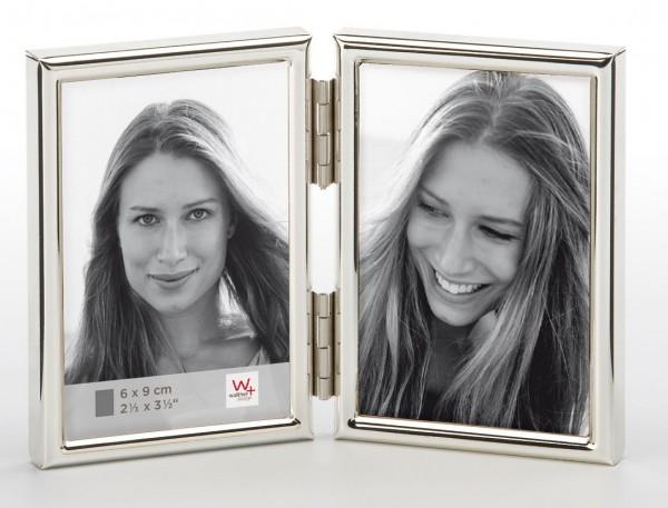 Metall Doppelrahmen Chloe für 2 Fotos