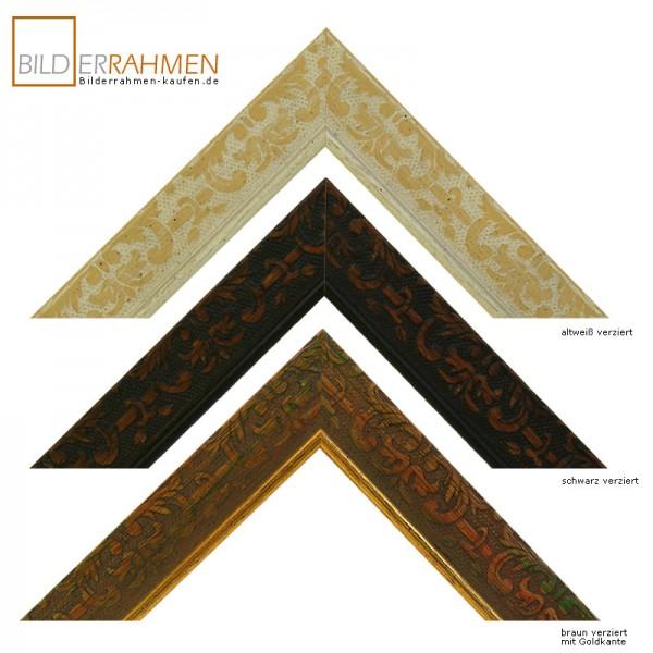 Holz Bilderrahmen Antiquis Profil 0308-verziert