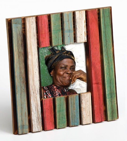 Holz Fotorahmen Limba quadr. im Sparset 2+1 - ein Rahmen gratis