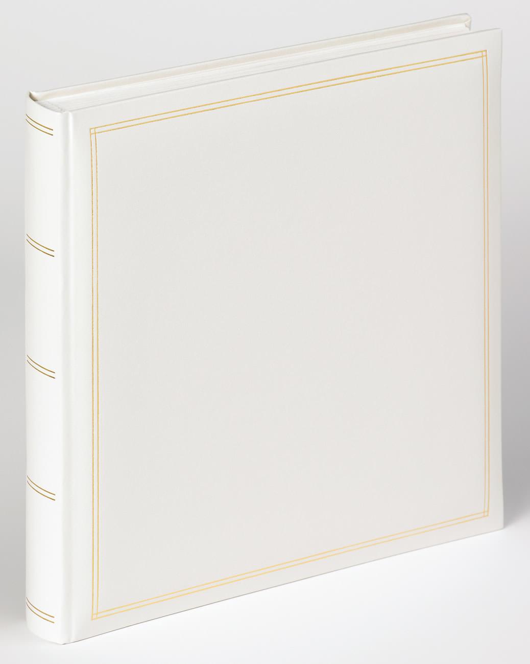classicalbum monza wei 34x33 cm klassische fotoalben fotoalben bilderrahmen. Black Bedroom Furniture Sets. Home Design Ideas