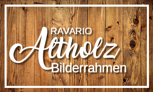 ravario® Altholz Bilderrahmen