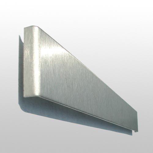 FLUX-Panel, Edelstahl-Schlüsselleiste 3,5 x 32 cm