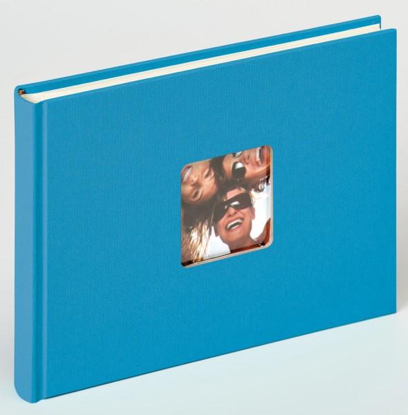 Designalbum Fun oceanblau, 22x16 cm