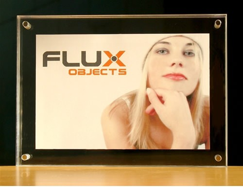 Acryl Bilderrahmen Flux-Frame für Format 10x15 cm