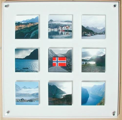 acryl galerierahmen flux frame 9 blocks f r je 10x10 cm. Black Bedroom Furniture Sets. Home Design Ideas