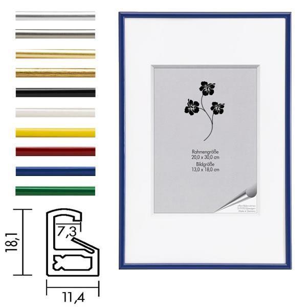 Posterrahmen Kunststoff ART in 10 Farben