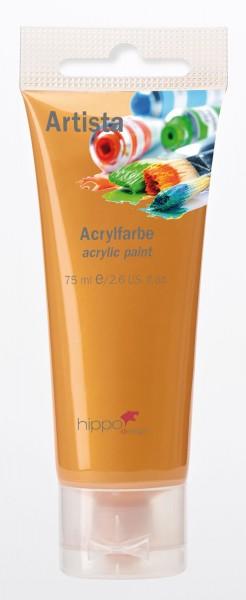Acrylfarbe, gold 1 Tube je 75 ml