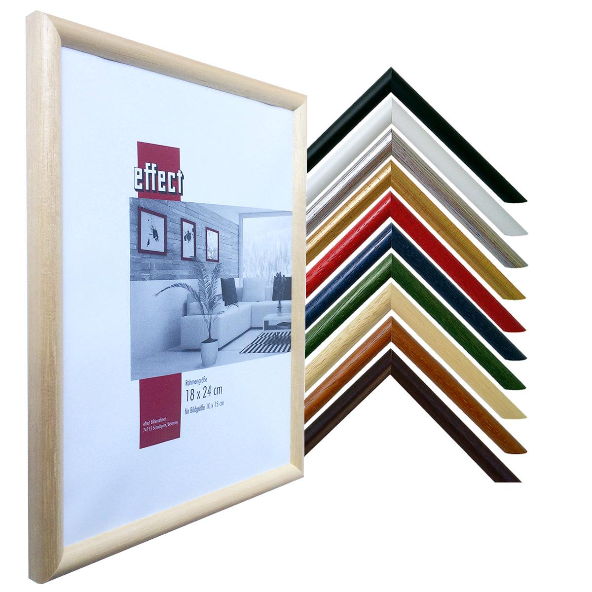 Bilderrahmen für Triptychon-Bilder Profil 20 ohne Glas