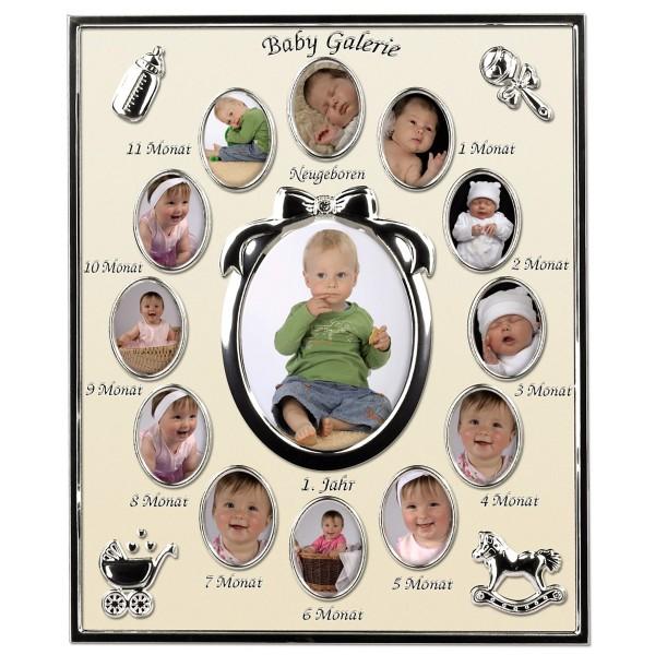 Galerierahmen Baby Galerie für 13 Fotos