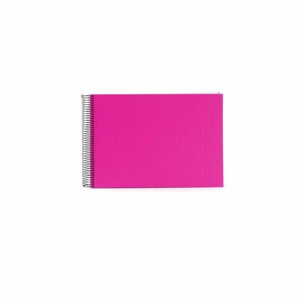 Spiralalbum pink mit weißen Seiten
