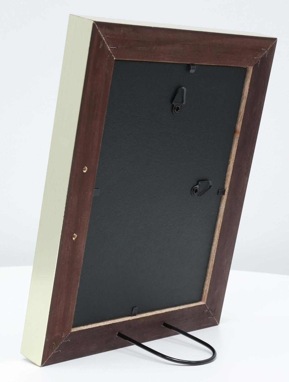 holz bilderrahmen vicenza schwarz silber. Black Bedroom Furniture Sets. Home Design Ideas