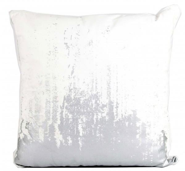 Kissen REGINALD Egret Silver 50x50 cm
