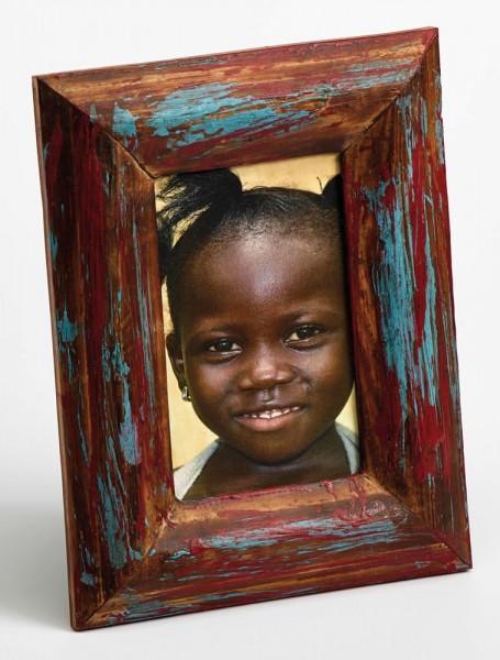 Holz Fotorahmen Sapeli für 1 Foto