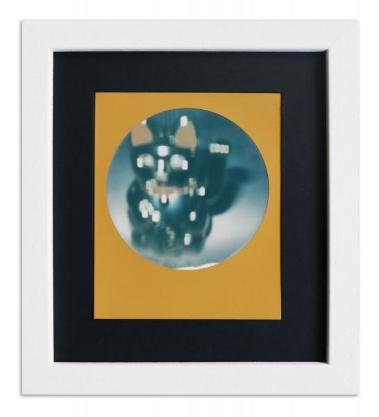 Polaroid Bilderrahmen für 1 Sofortbild - Typ 600 inkl. Passepartout / weiss