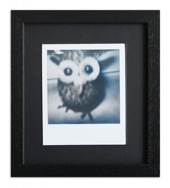 Polaroid Bilderrahmen für 1 Sofortbild - Typ 600 inkl. Passepartout / schwarz