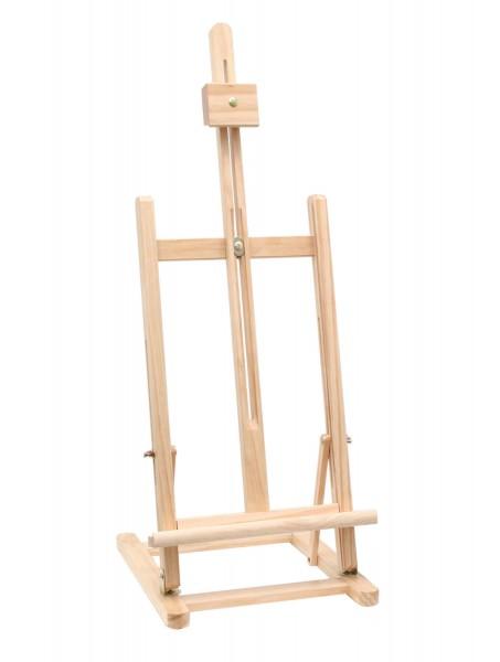 Staffelei 97 cm aus Holz natur