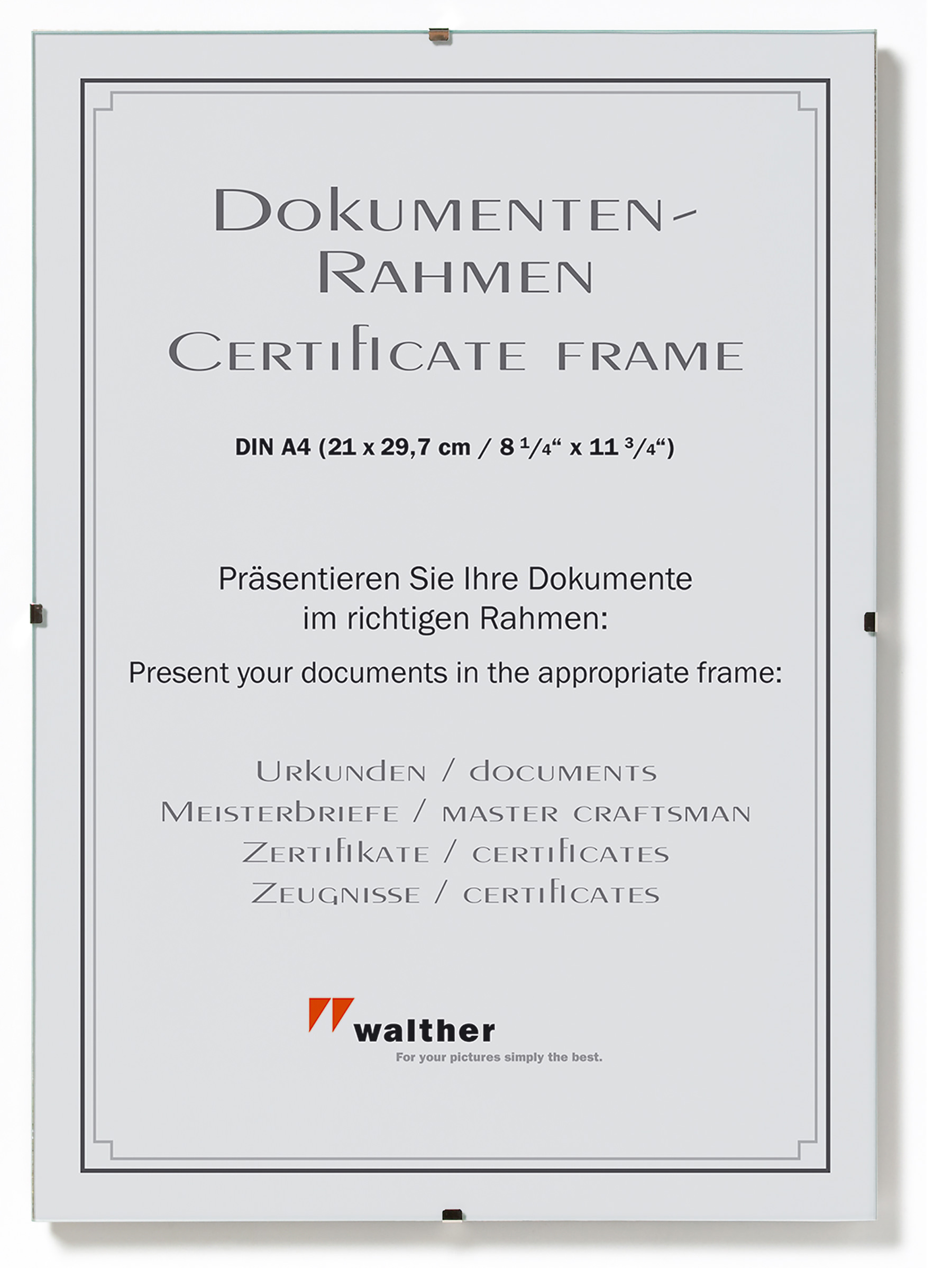 Charmant 8 5 X 5 5 Zertifikat Rahmen Galerie - Benutzerdefinierte ...