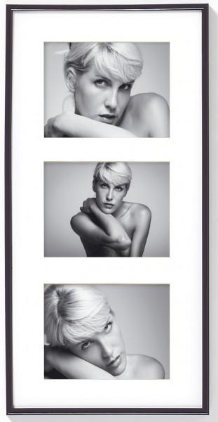 Kunststoff Galerierahmen Galeria für Format 3x 13x18 cm
