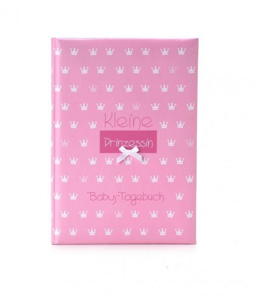 Babytagebuch kleine Prinzessin rosa
