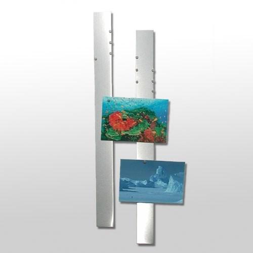 FLUX-Stripes Edelstahl-Fotoleisten 4 cm x 50 cm