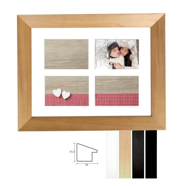 Galerie Bilderrahmen Holz Profil Top N in 19 Ausführungen