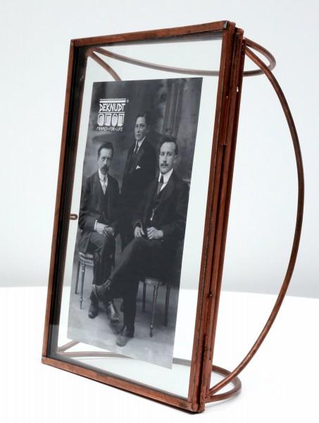 Metall Fotorahmen Obsolet kupfer