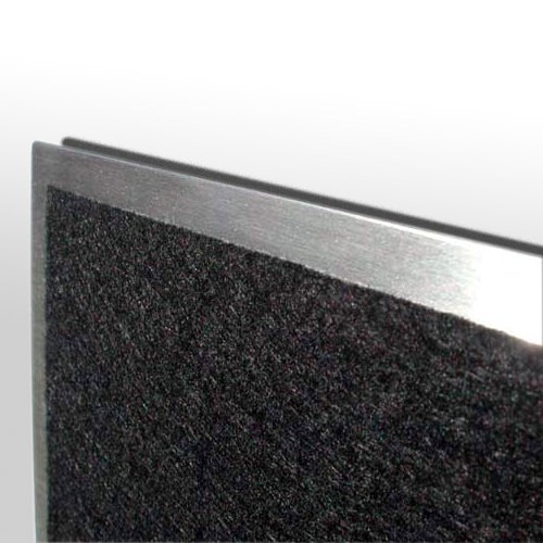 flux pitchboard edelstahl schl sselbrett 24 x 42 cm schl sselbretter accessoires. Black Bedroom Furniture Sets. Home Design Ideas
