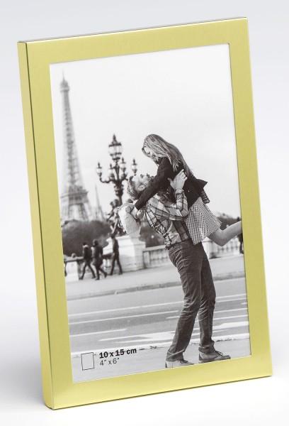 Metall Fotorahmen Karla matt gold für 1 Foto
