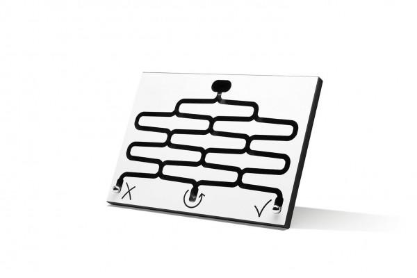 Kugelbahn DECISION für Schreibtisch - weiss