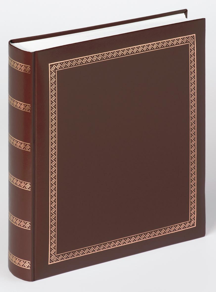 classicalbum das schicke dicke braun klassische fotoalben fotoalben bilderrahmen. Black Bedroom Furniture Sets. Home Design Ideas
