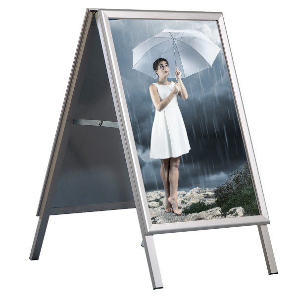 Alu Kundenstopper OUTDOOR WATERPROOF - wasserfest