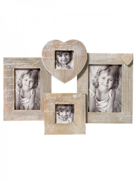Galerierahmen Le Coeur für 4 Fotos