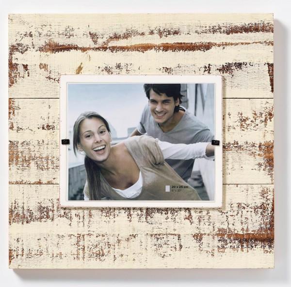 Holz Fotorahmen Offaly creme 20x25 cm